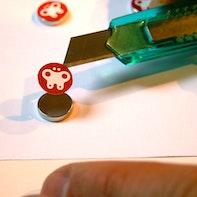 Personalisierte Magnete selber machen