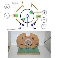 Motorventil mit Dauermagneten