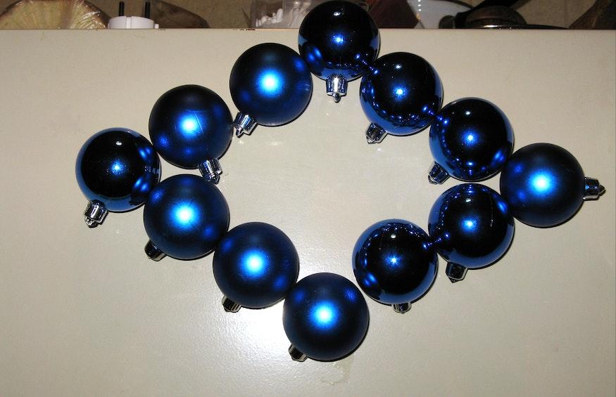 Le palline possono essere disposte a formare delle figure geometriche...