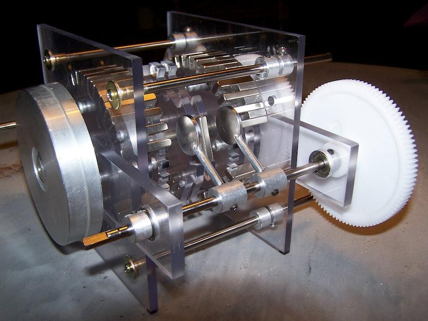 Magnetmotor Prototyp