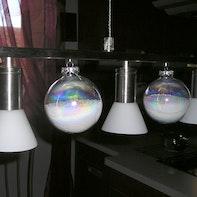 Mobile Christmas ball ornaments