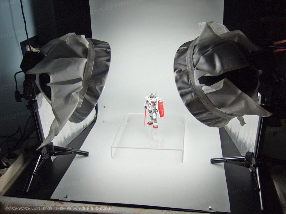 Un fondo bien liso permite centrar la atención en los objetos fotografiados.