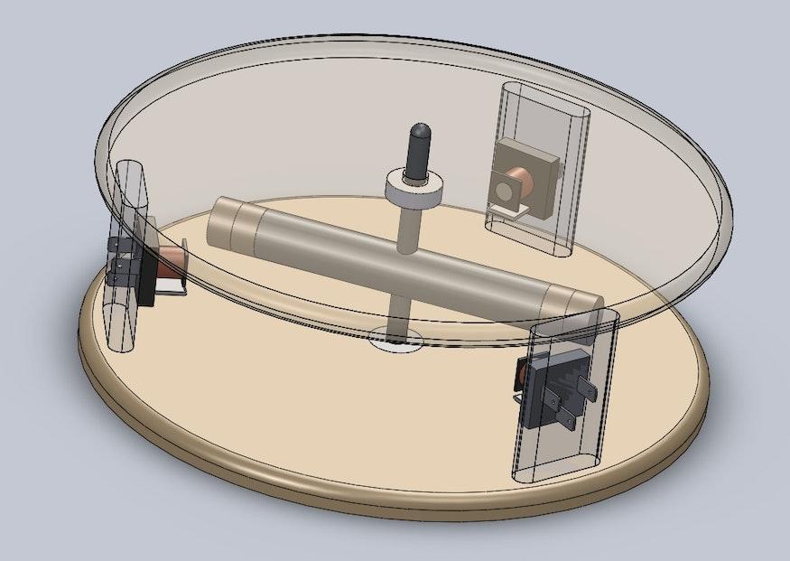Dibujo esquemático del generador