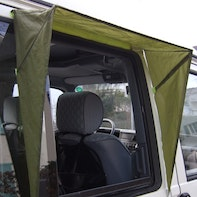 Rain canopy for camper