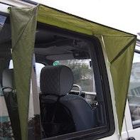 Auvent contre la pluie pour camping-car