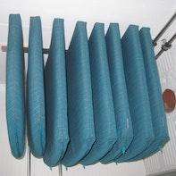 Riporre i cuscini delle sedie