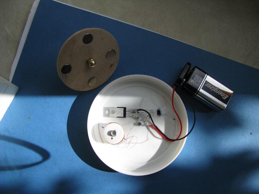 Ausführung mit einer Hall-Sonde