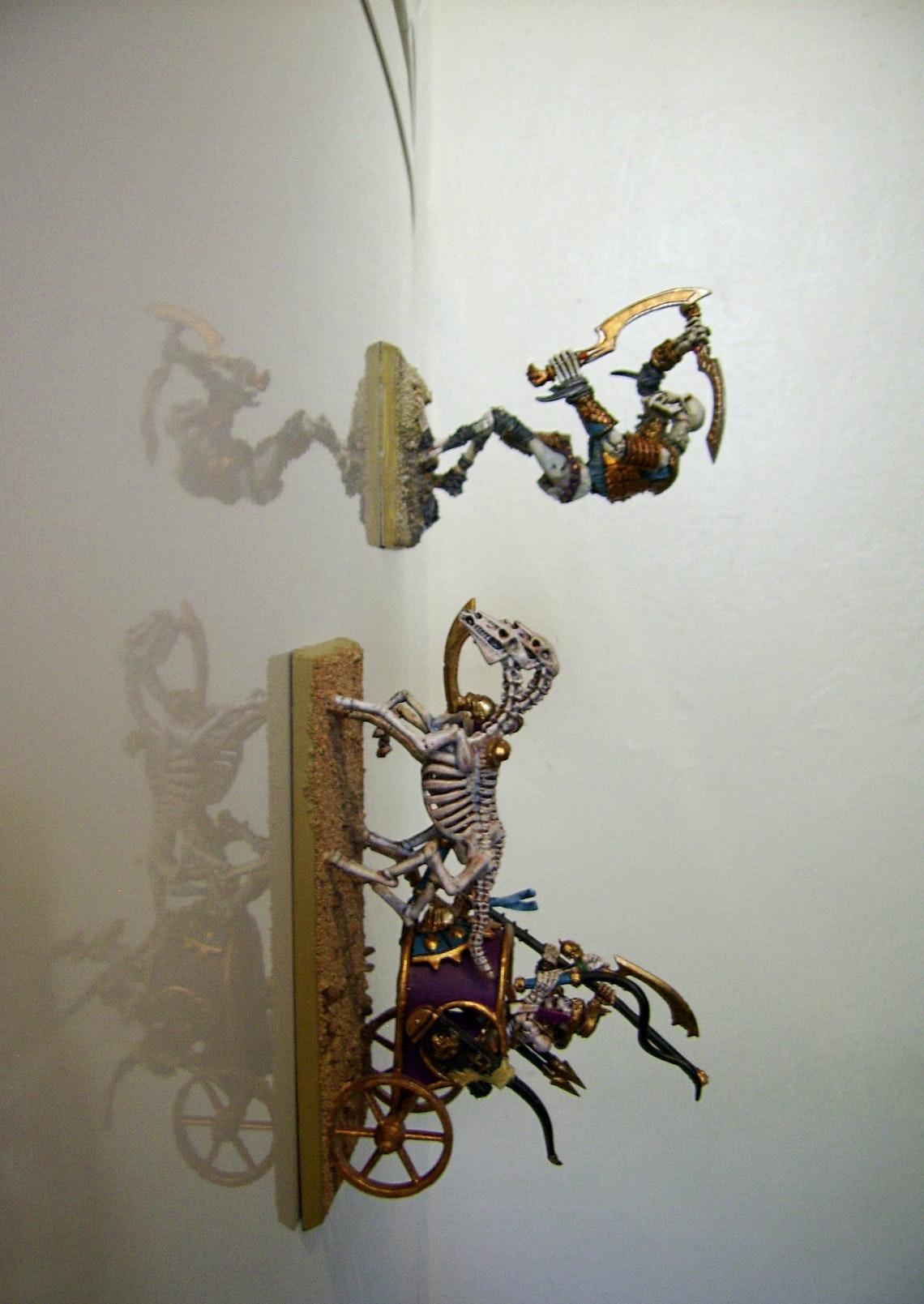 Por supuesto, las figuras modificadas también pueden conquistar un frigorífico :-)