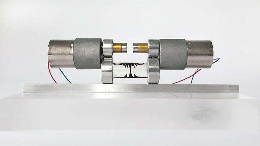 2 discos magnéticos y