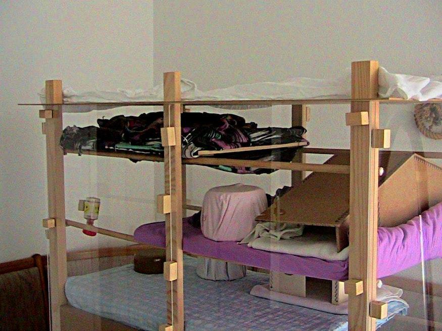 Residencia de vacaciones con mobiliario