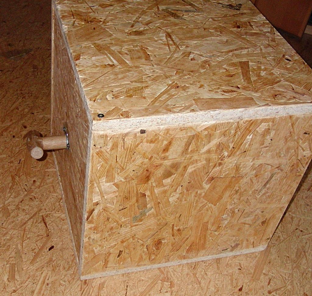 raffinierte holzbox mit magnetischen deckel supermagnete. Black Bedroom Furniture Sets. Home Design Ideas