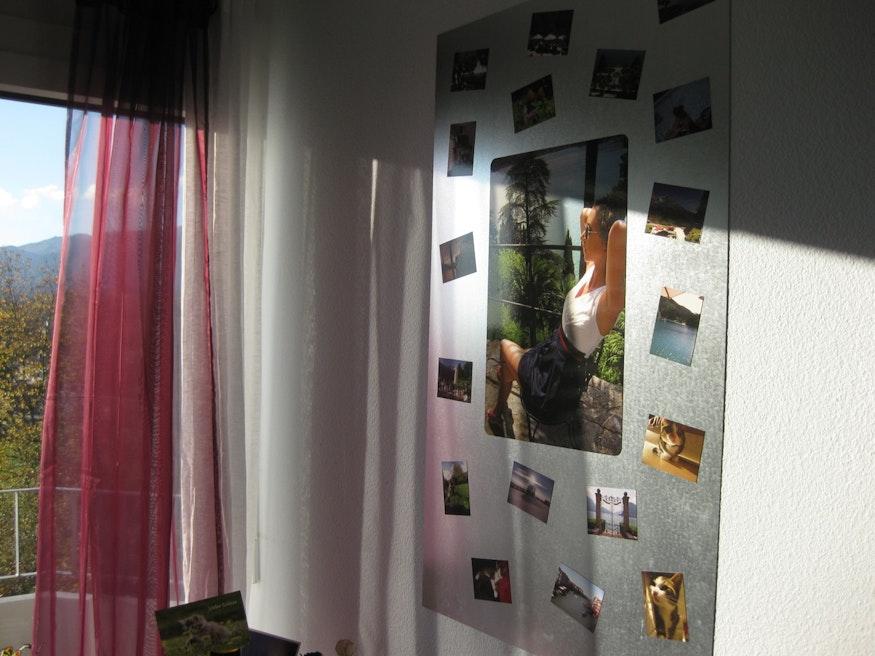 Fixation verticale avec photos