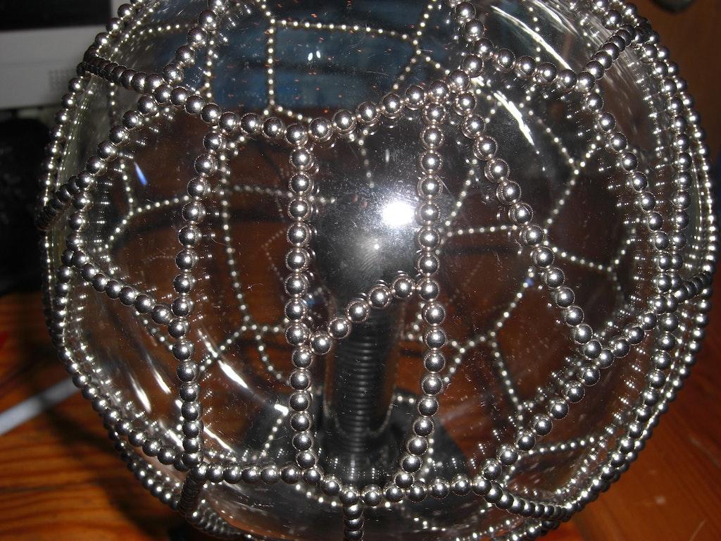 plasmalampe mit kugelmagneten dekorieren supermagnete. Black Bedroom Furniture Sets. Home Design Ideas