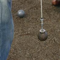 Elevador para bolas de petanca