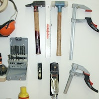 Hanging up tools