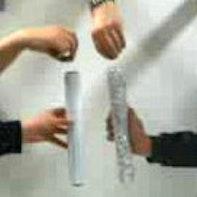 Carta d'alluminio come paracadute senza contatto