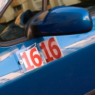 Flexible numbers on the car