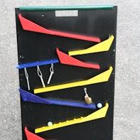 Modulaire knikkerbaan