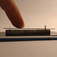 Schwebende Bleistiftmine