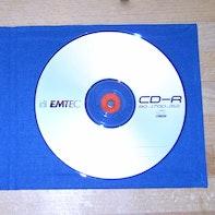 CD-Hülle selbst gemacht