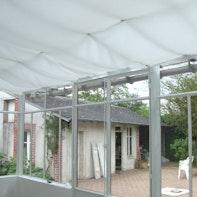 Protección solar para el jardín