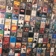 CD-Wand / CD Wall