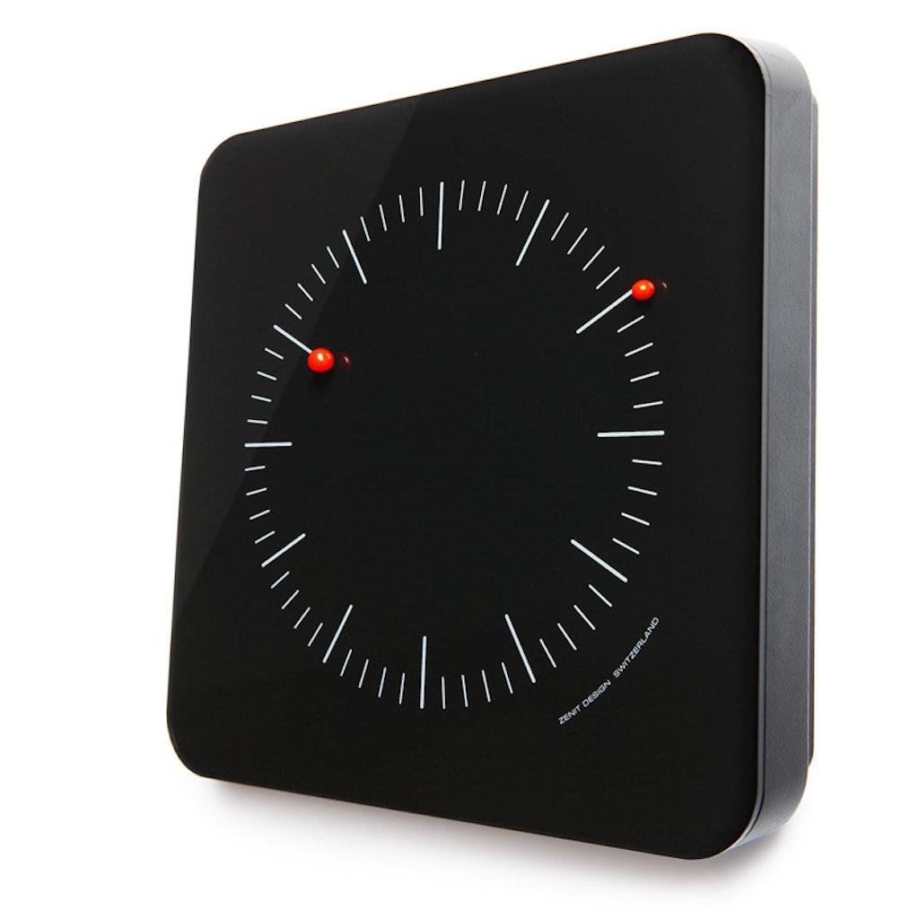 analoge uhren ohne zeiger oder mit magnetischem ziffernblatt supermagnete. Black Bedroom Furniture Sets. Home Design Ideas