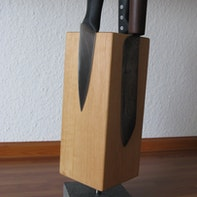 Designer knife block