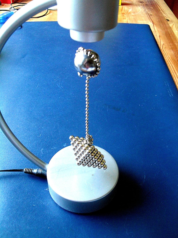 schwebende magnet-skulpturen - magnet-anwendungen - supermagnete