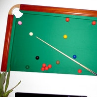 Snooker-Wand