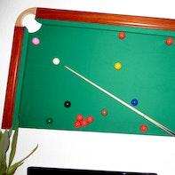 Snooker-Wand