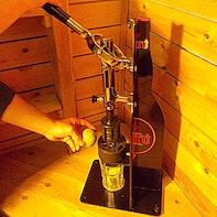Limetten-Schneidemaschine