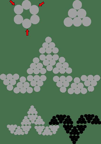 Schritt für Schritt Anleitung, wie man einen Ball aus Magnetkugeln bastelt