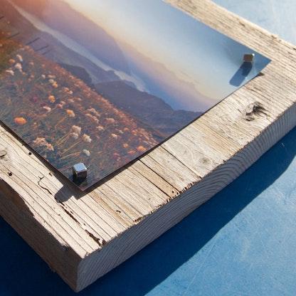 fotos sthetisch in holz bilderrahmen pr sentieren supermagnete. Black Bedroom Furniture Sets. Home Design Ideas
