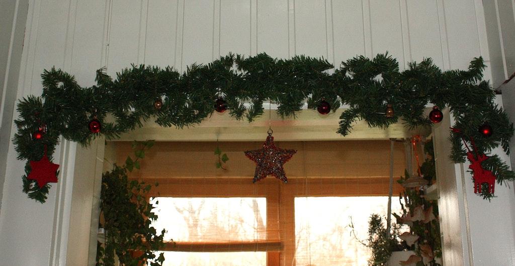 Addobbi natalizi sulla vernice magnetica - Addobbi natalizi per finestre ...