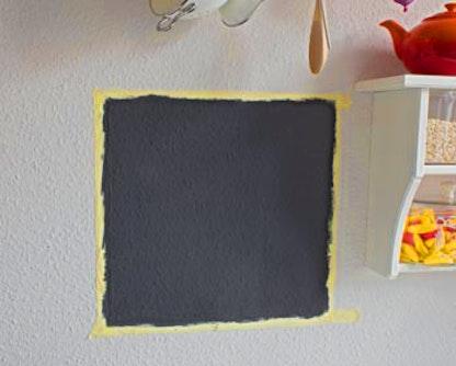 Pareti Lavagna Magnetica : Dipingere lavagna magnetica con semplice vernice pittura