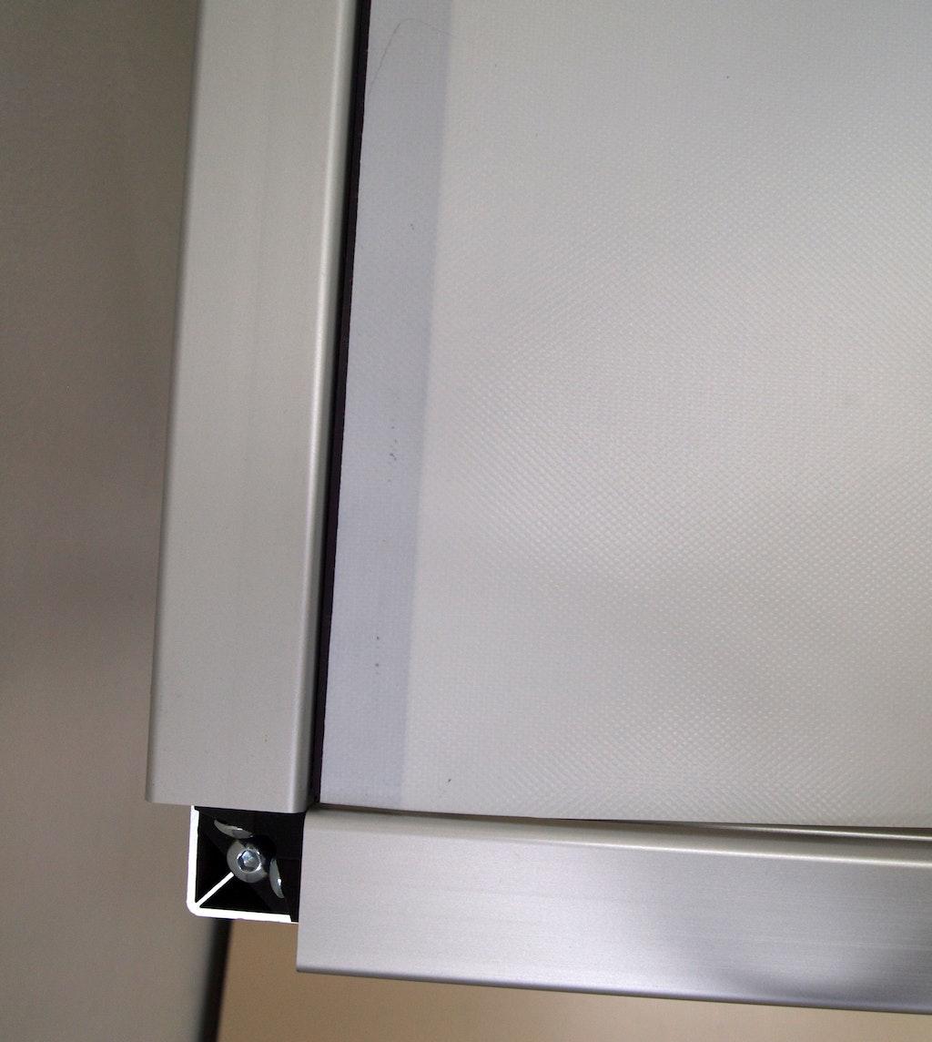 messestand mit magnetband bespannen supermagnete. Black Bedroom Furniture Sets. Home Design Ideas