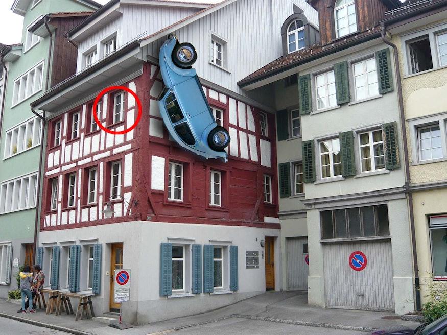 De Magneet des Wraaks werd op de tweede verdieping uitgepakt.