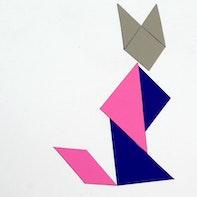Magnetic Tangram