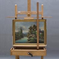 Malstock für Maler und Restauratoren