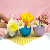 Easter flower vases