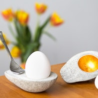Cement egg cup