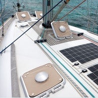 Curtains for yacht & sun protection