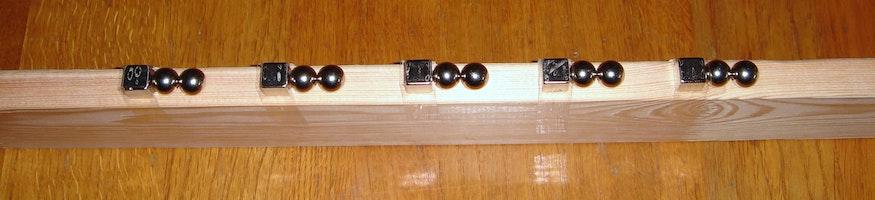 Un canon de Gauss de fabrication artisanale