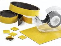 zelfklevend magneetband in verschillende breedtes