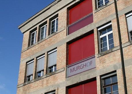 El edificio de los talleres Murghof