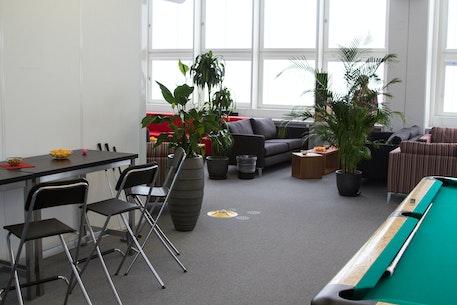 El área de descanso de nuestras oficinas