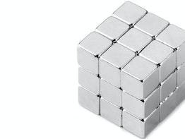 Aimant cubique