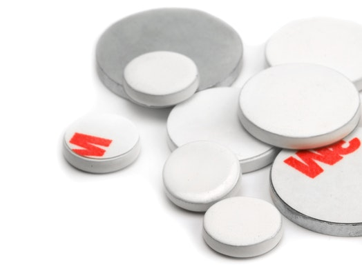 Glue-on magnetic bases