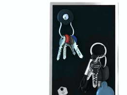 Magnetic key racks and holders